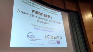 ECOMED at IUFRO's 125th Anniversary Congress