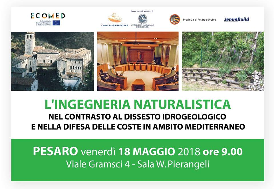 ECOMED Event- L'INGEGNERIA NATURALISTICA (In Italian)