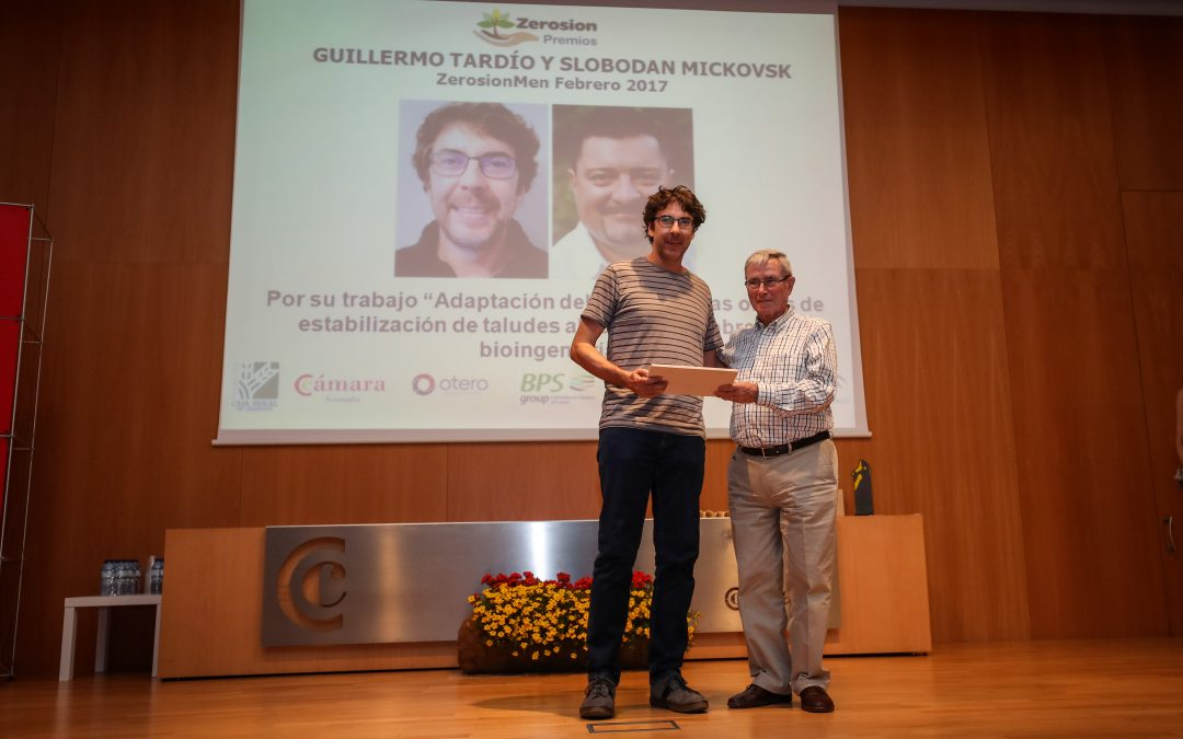 Two Ecomed members awarded with one of the International Zerosion Awards